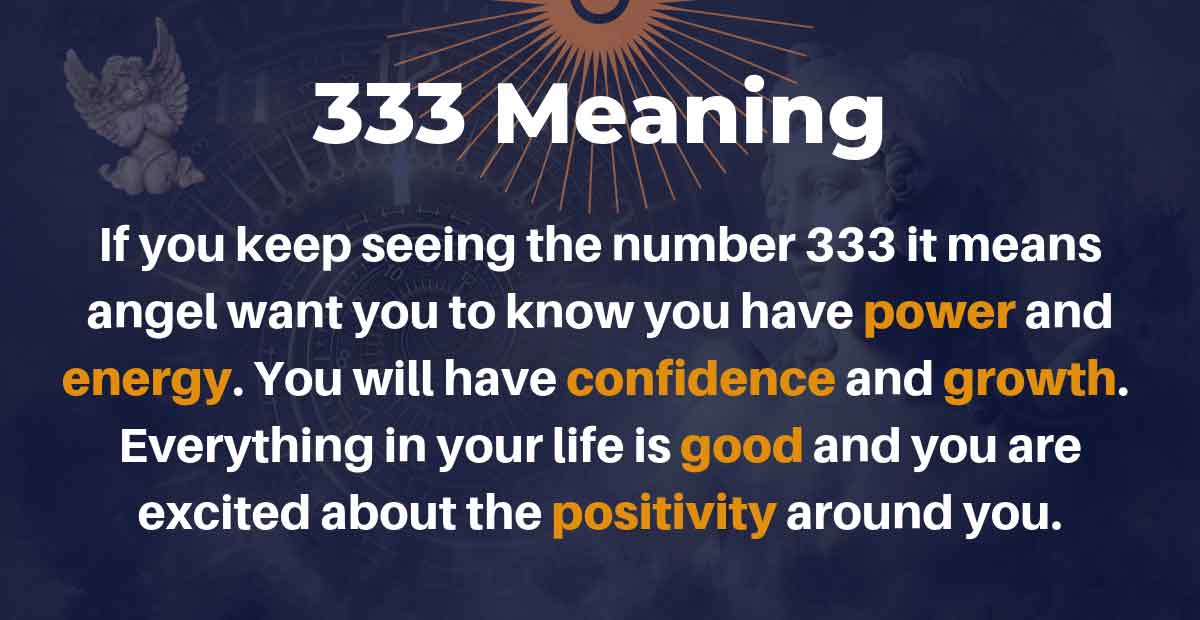 333 Meaning: In Love, Relationship and in Your Entire Life