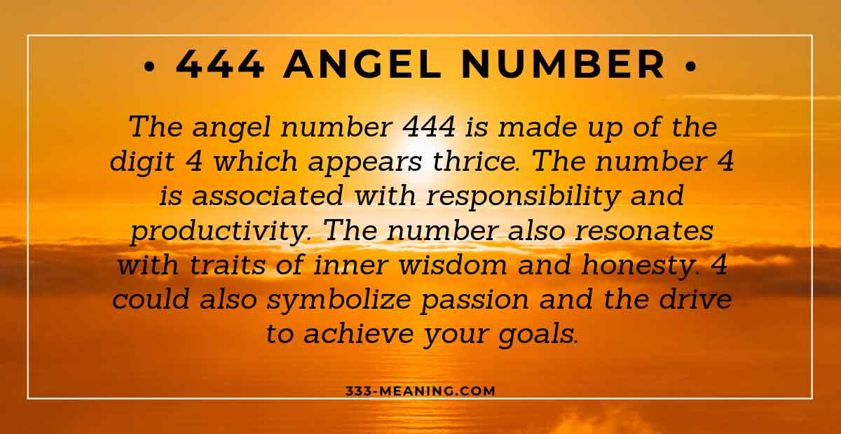 444 Angel Number – The Sequence For Money & Love – EXPLAINED!