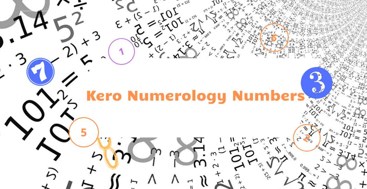 kero numerology numbers